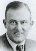 UK passport photo of Wolfgang zu Putlitz under the name William Putters, 1938