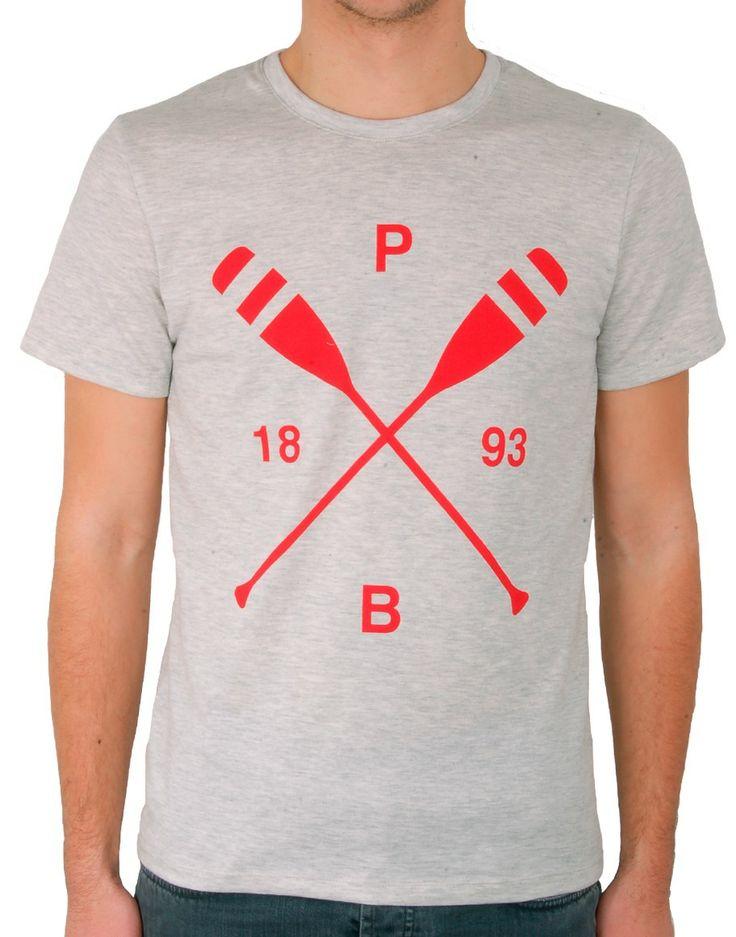 """Quand les marques récupèrent le style universitaire des logos en X. Ici """"Petit bateau"""". Pour en savoir plus : http://www.dezzig.com/2012/08/x-story-24-punk-so-british/"""
