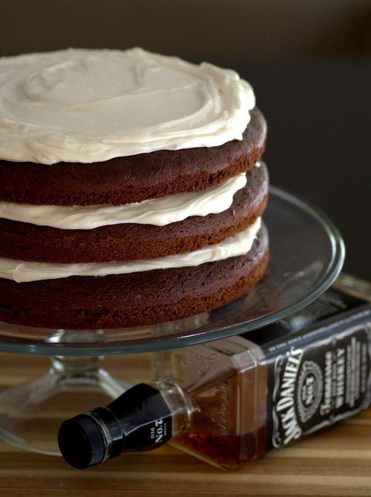Jack Daniel's Chocolate Cake