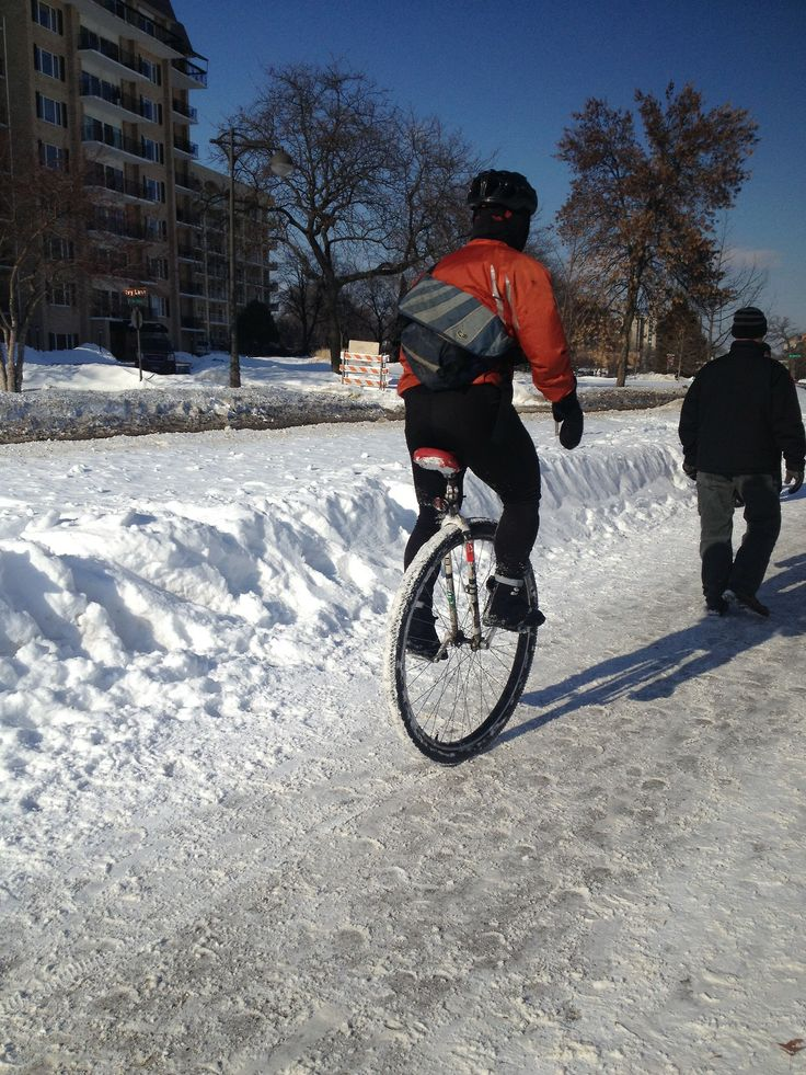 Slope style and and women's ski jumping don't have anything on the new 2018 Winter Olympic Games event of Fat Tire Unicycling. I...