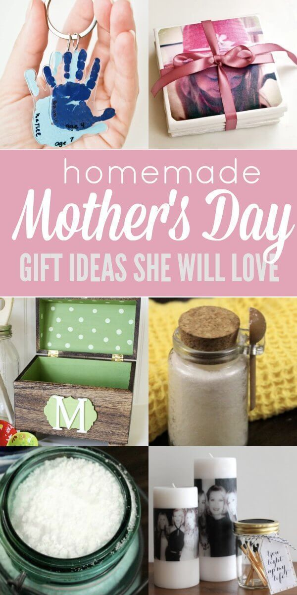Here Are Some Easy Homemade Mothers Day Gifts Ideas That You Can