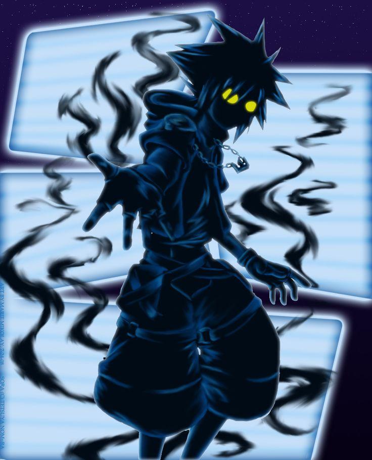 Kingdom Hearts.:.Anti.Sora by ~RedDestiny on deviantART