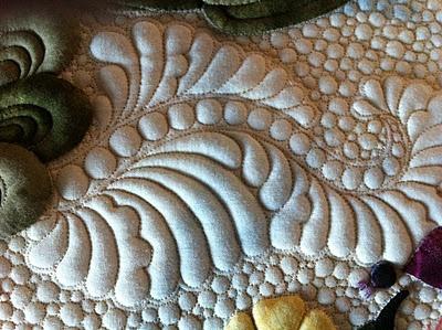 Sharon Schamber - Quilt Artist (and her latest quilt)