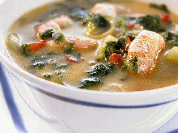 Shrimpssuppe auf kreolische Art Rezept | EAT SMARTER