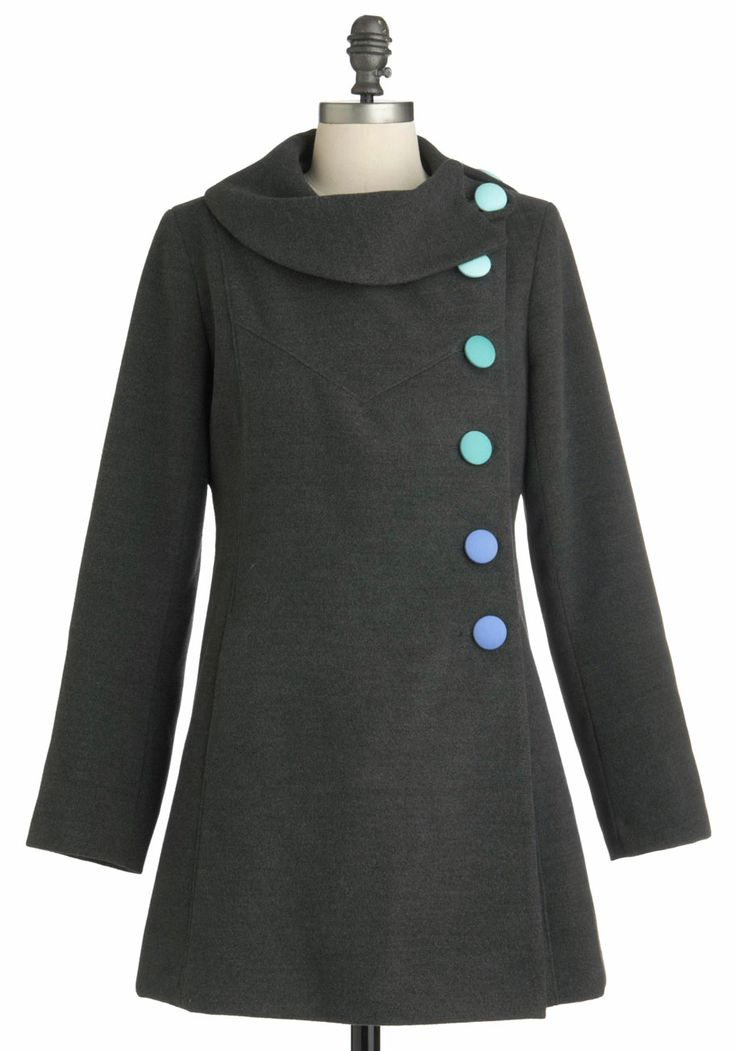 Mod for It Coat in Grey