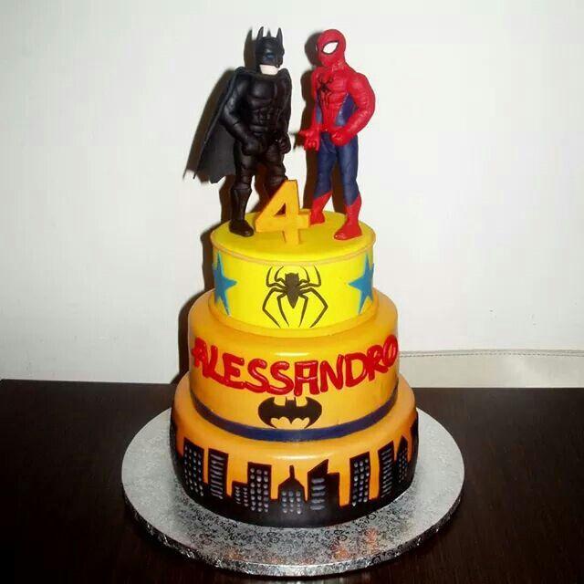 Birthday Cake Pictures Spiderman