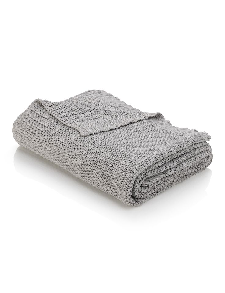 Moss Knit Throw, £69, Marks & Spencer