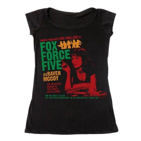 camiseta fox force five