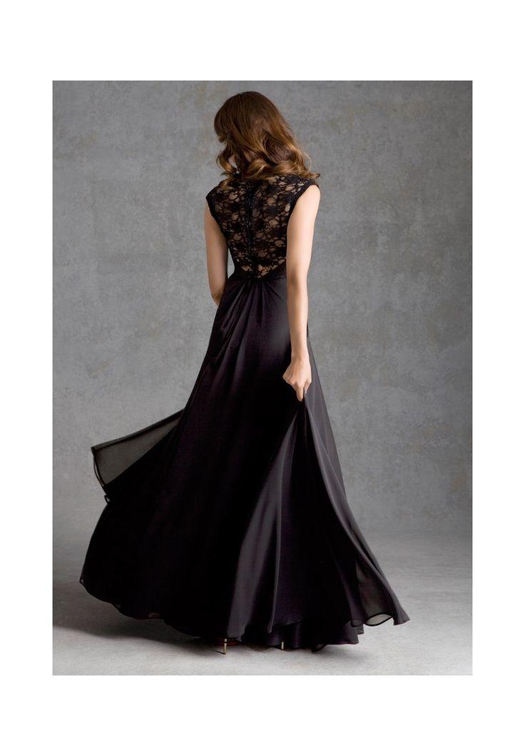 Bridesmaids Dress  693 Lace and Chiffon