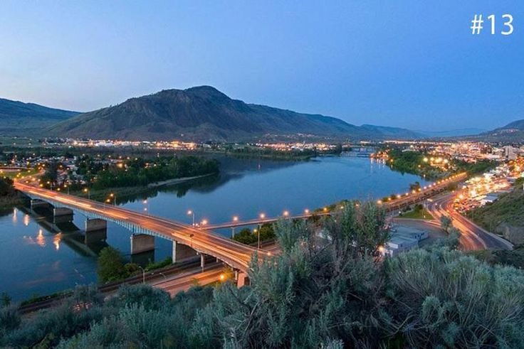 Kamloops rated one of the best cities to live and work in 2016