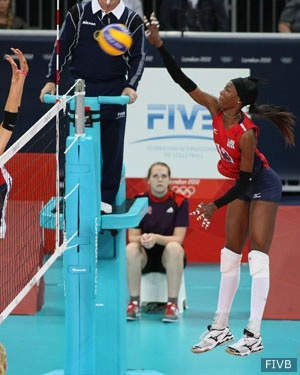 Destinee Hooker (San Antonio, Texas) has been named the USA Volleyball Indoor Female Athlete of the Year for 2012, while Kristin Richards Hildebrand (Orem, Utah) has been selected as USA Volleyball's Most Improved Player in the indoor female athlete category.