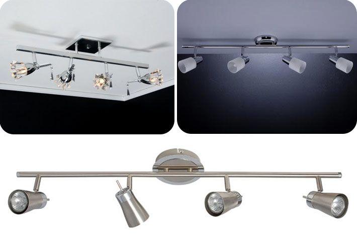 Iluminação com spots em trilho eletrificado - Comprando Meu Apê | Comprando Meu Apê