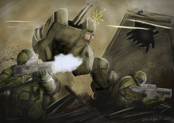 Battlefield 2142 Firefight by voldseth