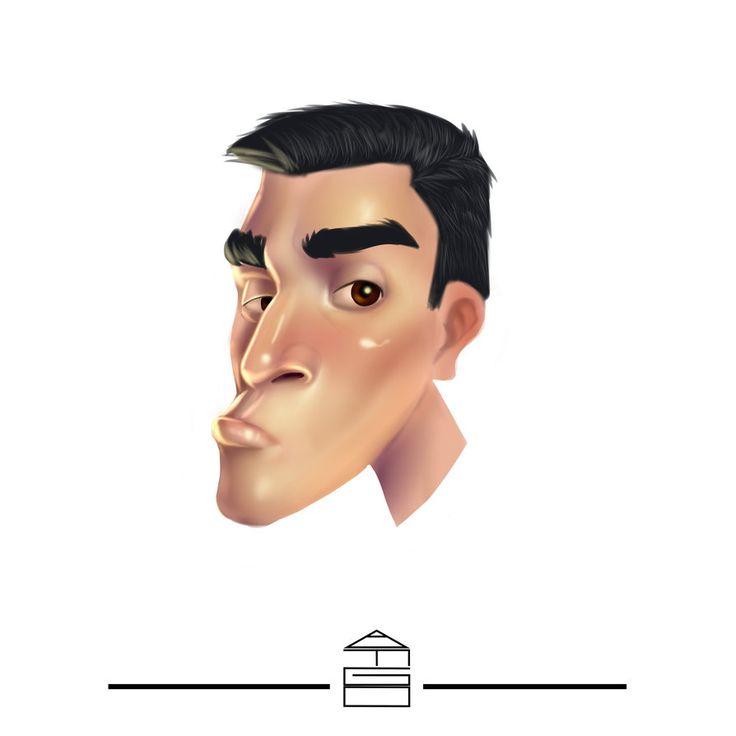 Caricatura by AnibalFG.deviantart.com on @DeviantArt