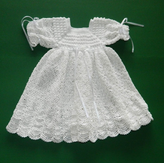 Crochet Christening / Blessing Gown