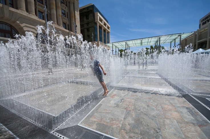City Place Water Labyrinth
