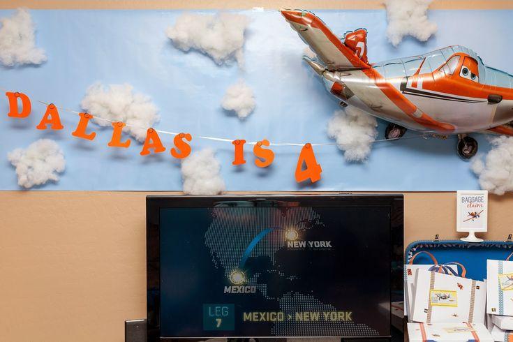 Disney Planes Party The Decor!