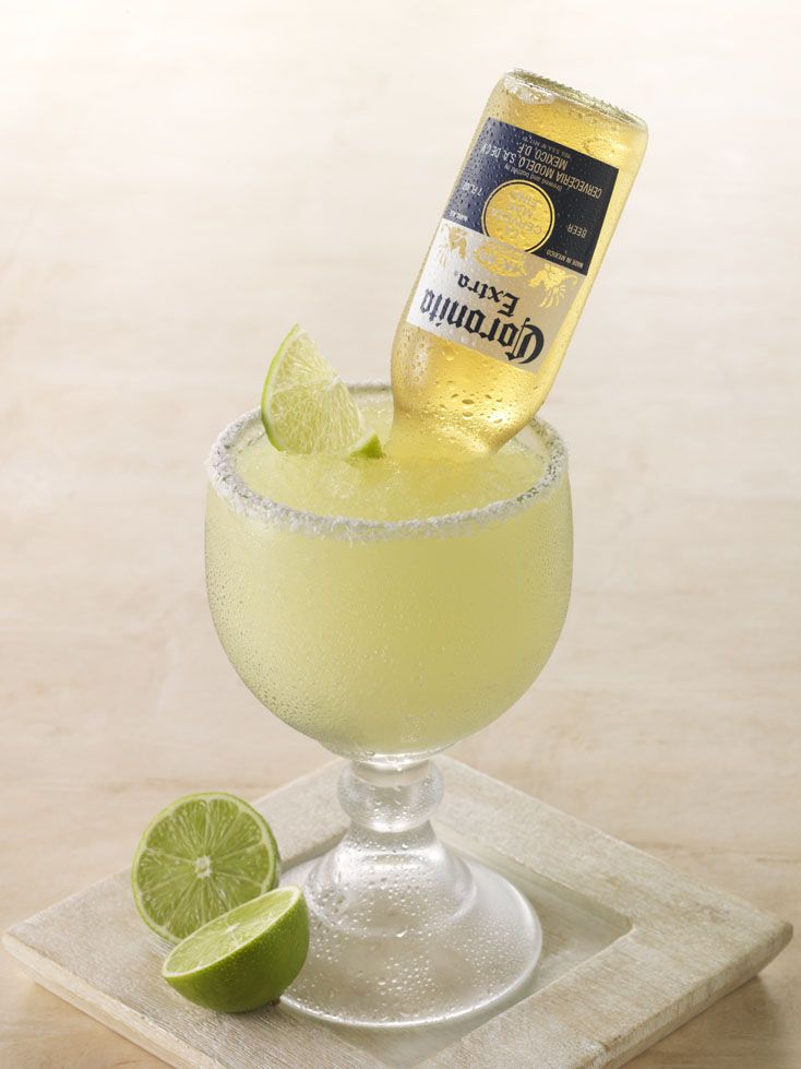 how to put a corona in a margarita