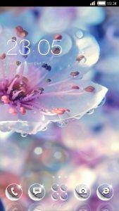 Shiny Flower theme covers icons, wallpaper, folders, menus, skin and all launcher elements, to provide a complete set of phone's launcher beautification program!  Shiny Flower CLauncher Theme features This theme is compatible to the wallpapers and lockers of similar products: CLauncher, Go...