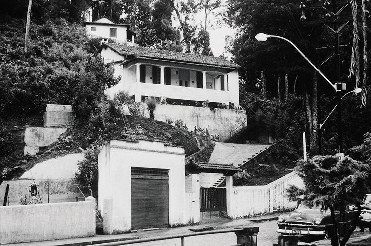 Casa de Stefan e Lotte Zweig en Petrópolis, Brasil.