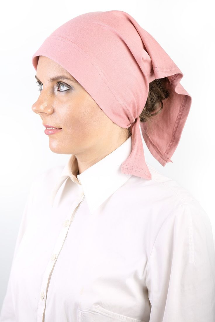 Pink Kerchief made of Egyptian Cotton! This one is super cute! #headscarves #cancerpatients #headcovers