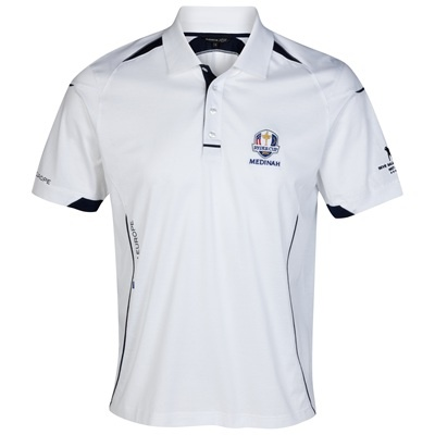 The 2012 Ryder Cup Medinah European Team Polo Shirt,