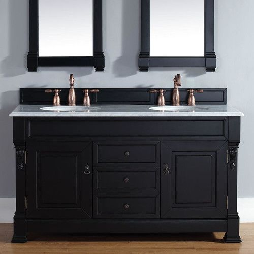 Photo Album For Website James Martin Furniture Brookfield Double Antique Black Bathroom Vanity Set with Drawers You ull Love