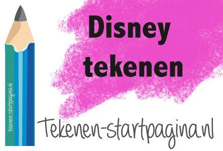 Oneindig tekenplezier met het (na)tekenen van Disney figuren! Zie voor meer inspiratie tekenen-startpagina.nl