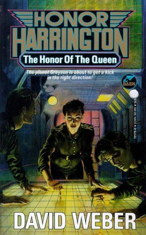 The Honor of the Queen Authors: David Weber Year: 1993-06-00 Publisher: Baen  Cover: Laurence Schwinger