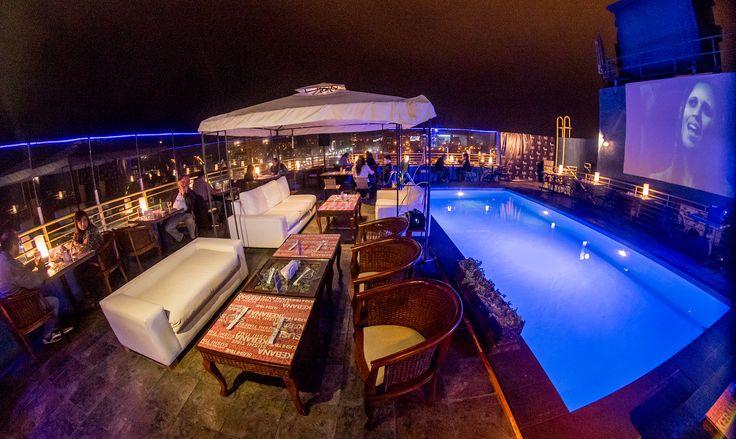 Lounge, Ikebana Japanese Cuisine, 8vo piso de Hotel Sunfish Iquique - Chile.
