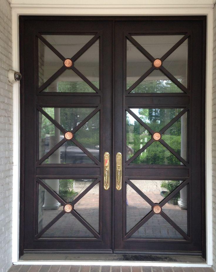65 best Iron Doors images on Pinterest   Front doors, Door entry and ...