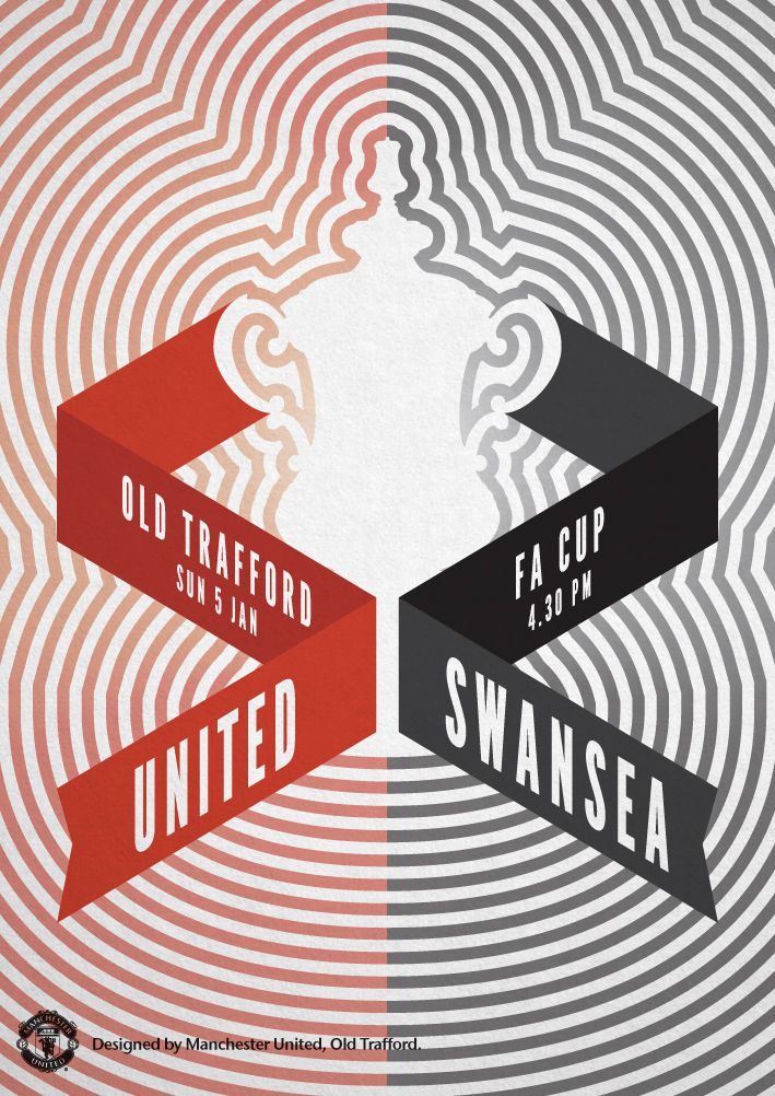man united v swansea fa cup on tv