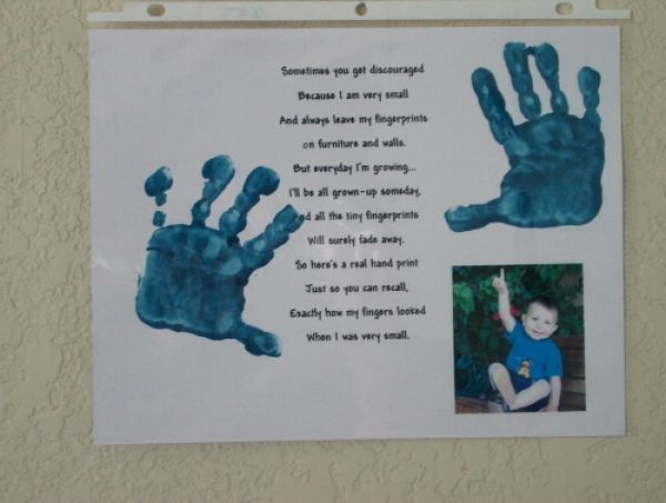 father's day handprint quotes