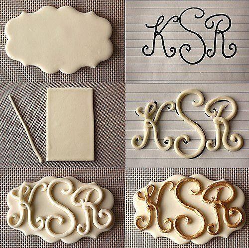 ♥ Fondant Letters