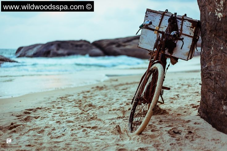 The famous kapu beach in mangalore .. #bangalore #bicycle #india #kapubeach #mangalore #beach #wheels #shore #icecandy #candy .icecandyshop #herocycles #cycle #karnataka #tyre #woodenbox #rim #bell #cyclebell