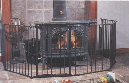 17 best safety fire screens images on pinterest fire for Wood burning stove for screened porch