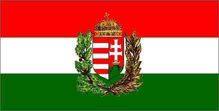 HUNGARY country flag banner 3x5ft - Click Image to Close