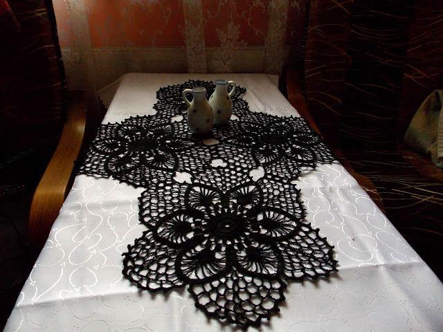 Moje robótki ręczne: Dwie czarne piękności
