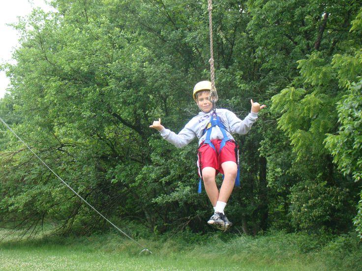 Flying Through The Woods Camp Tekakwitha