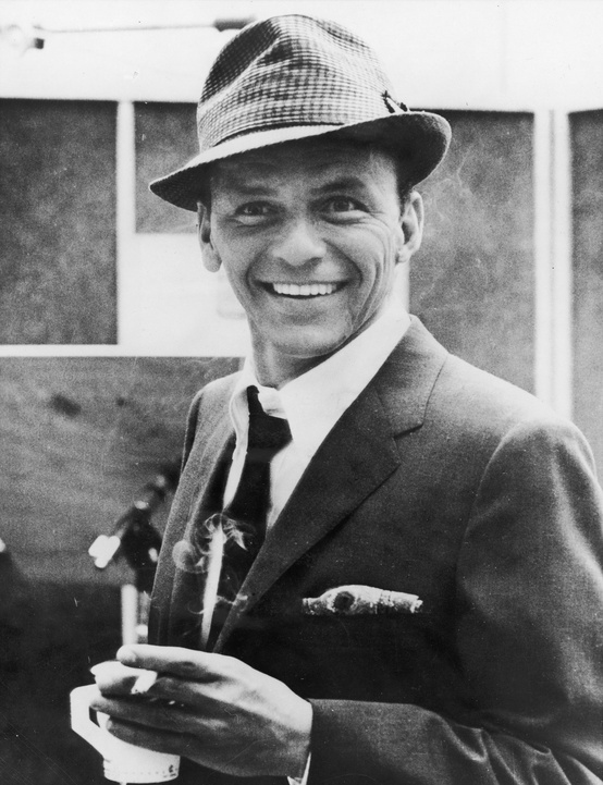 Frank Sinatra Drinking Coffee - a little style inspiration