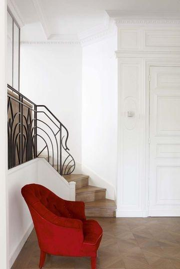 Appartement en rez de jardin une r novation r ussie paris feng shui house styles - Rez de jardin paris ...