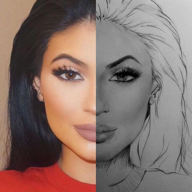 Kylie Jenner by Vonsreign   Caricature's & Portrait's ...