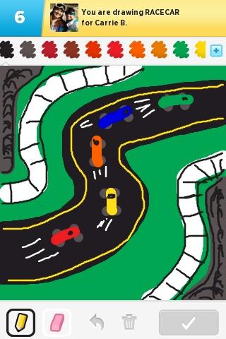 Race Car Draw Something Kids Rugs Poker Table Draw Something