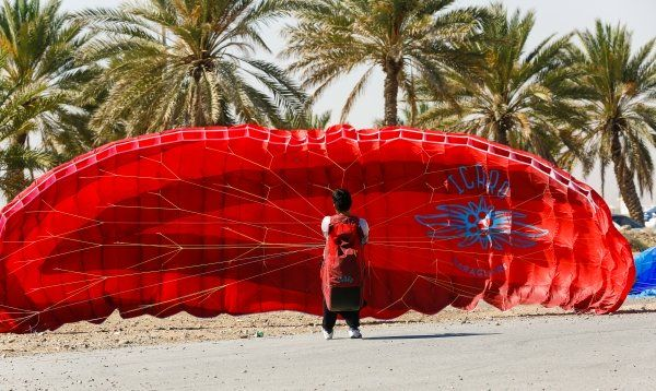Paragliding and paramotoring introduced in Oman.  #paragliding #Oman
