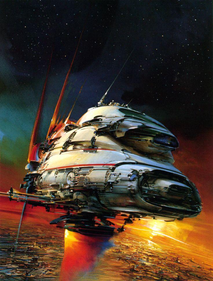 John Berkey   #science #fiction #space soccer a beautiful game www.brasilcopamundotowel.com