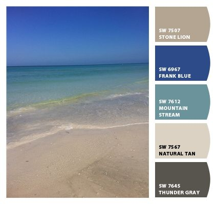 Chip It! By Sherwin Williams U2013 Beach Colors