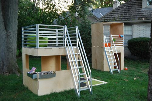 these playhouses by 2cuba are amazing. super expensive, but amazing.