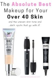 The best makeup foundation for women over 40 | roundandroundrosie.com