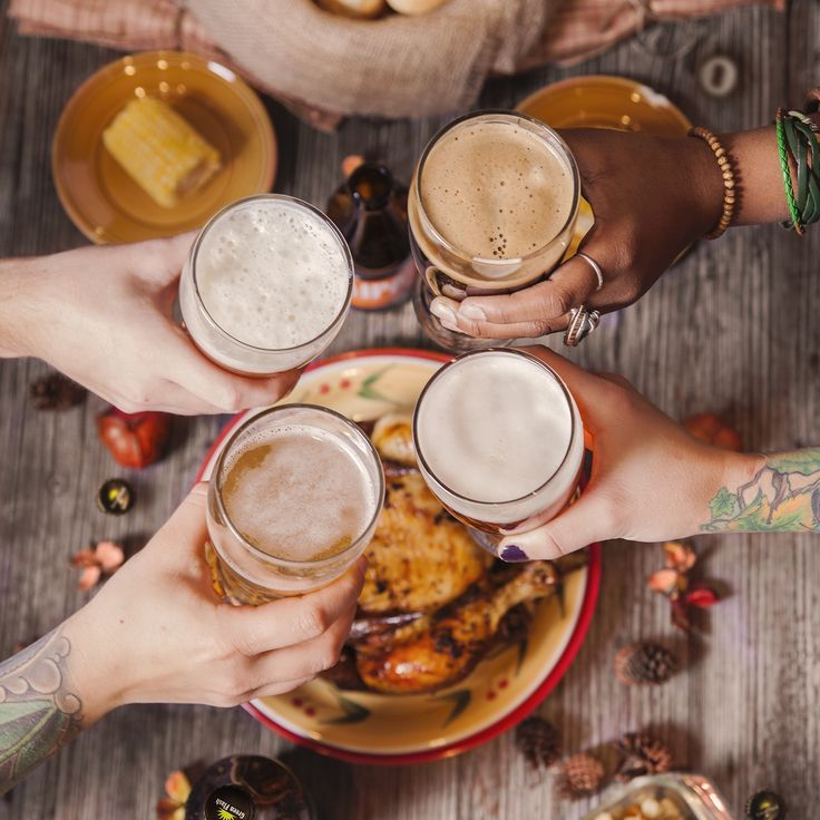 Friendsgiving Beer And Food Pairings Your Friends Will