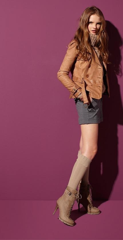 2011 Leather Jacket Fashion Bershka
